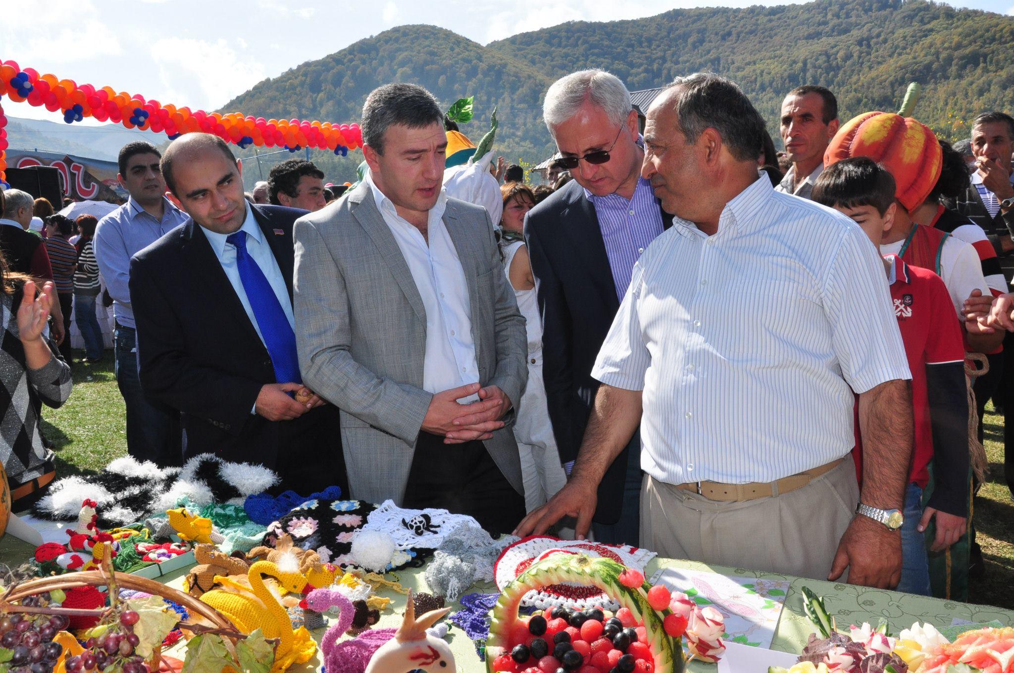 Բերքի տոն Գյուլագարակ գյուղում. Լոռի